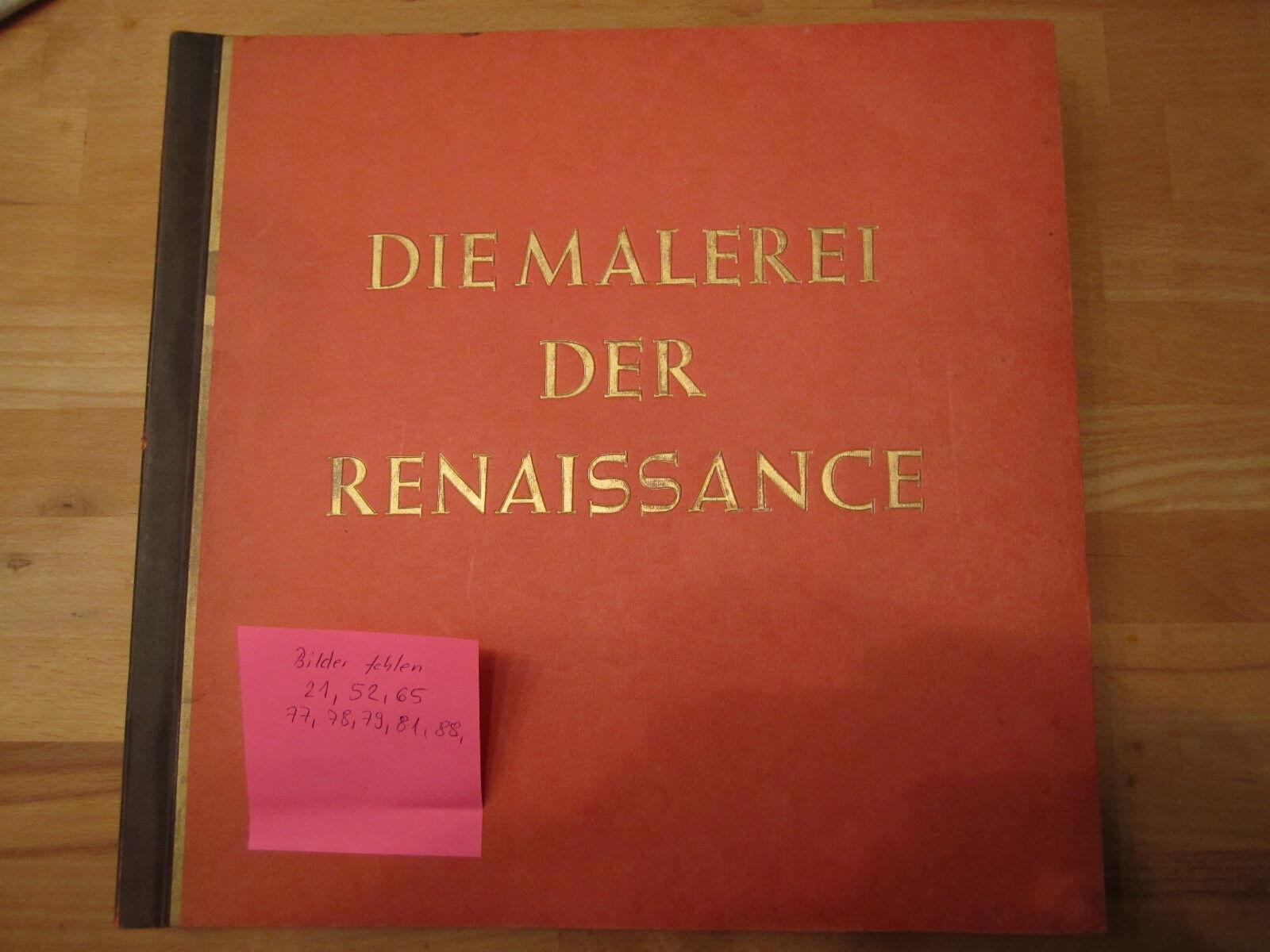 Sammelbilderalbum Die Maler der Renaissace Kuhlemann !