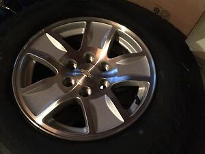 Brand new tires and rims w/sensors & lug nuts
