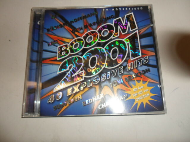 Cd   Various  – Booom 2001 - The First