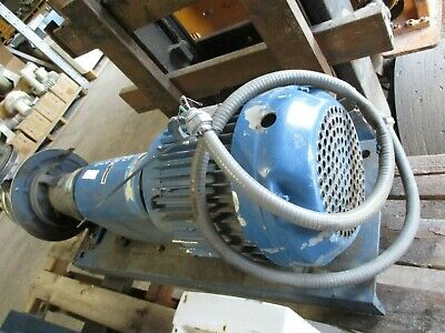 G And L Centrifugal Booster Pump With Motor 1 12x2-12-6 801956b Used