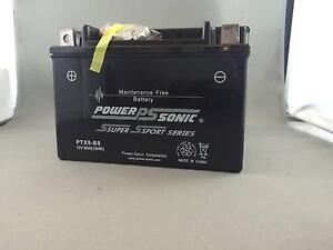 Power-Sonic Super Sport PTX9-BS Motorbike Battery Morningside Brisbane South East Preview