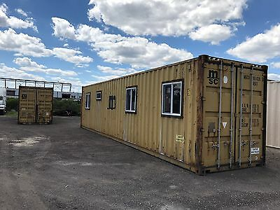 40' Shipping Container Home Shell