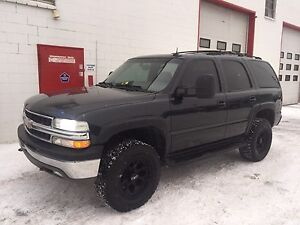 2003 Chevy Tahoe 4x4 - Leather - DVD - $6500