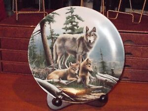 Call of the Wilderness plate serie