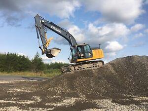 Deere excavator