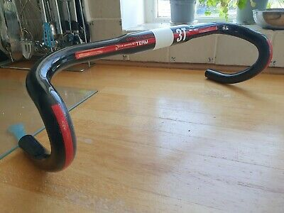 Renthal FatBar Lite carbone guidon 40 Mm Rise 740 mm largeur 31.8 mm carbone