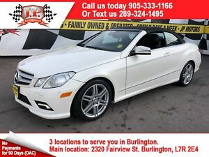 2011 Mercedes-Benz E-Class 550, Navigation, Leather, Convertible