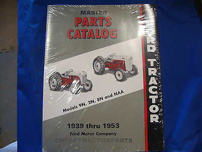 2n 9n 8n Naa Ford Tractor Master Part Catalog