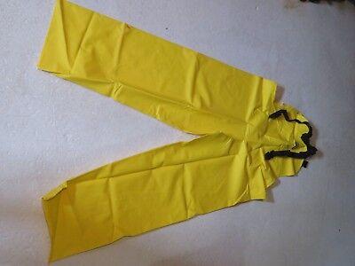 New Rain Pants Coveralls Oil Resistant Chemicals Hi-viz Yellow Size Xxl 2xl