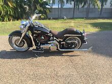 Harley Davidson flstn Bayview Darwin City Preview