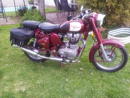 ROYAL ENFIELD BULLET 500CC 2009 AS NEW CONDITION