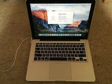 "For Sale Apple MacBook Pro ""Core i7"" 2.9 13"" Mid-2012 Marsfield Ryde Area Preview"