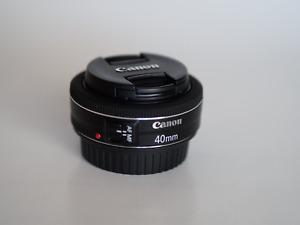 Objectif Canon EF 40mm f2.8 STM -PRIX RÉDUIT