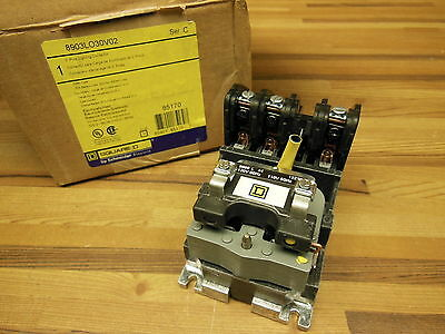 Square D 8903lo30v02 3 Pole Lighting Contactor