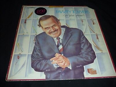 VINYL LP  - FAWLTY TOWERS - AT YOUR SERVICE - BBC RECORDS (MONTY PYTHON)