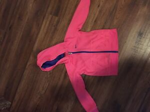 Girls Nike zip up hoodie 4T