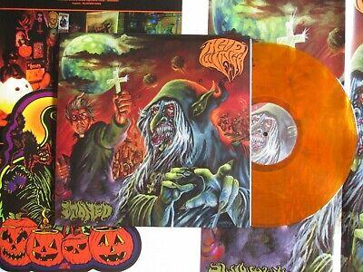 Non Halloween Posters (ACID WITCH Stoned LP ORANGE + DIE CUT HALLOWEEN DECORATION + POSTER DEATH)