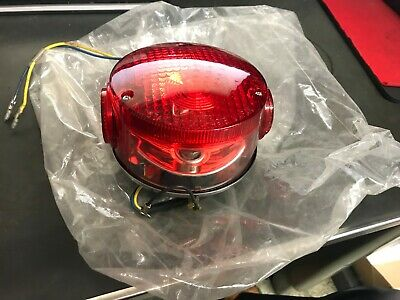 NOS 1977-Up Yamaha TX500 / 650 / XS 500 / 650 Tail Light - Original Complete