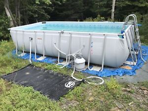 Coleman Rectangular Frame Pool, 17ft by 8ft