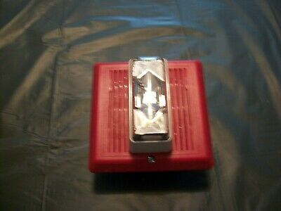Fire Alarm Indoor Strobespeaker Horn Wo Brackets Pre-owned