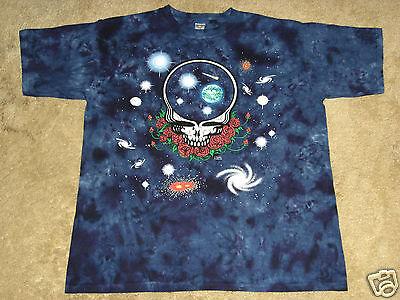 Grateful Dead Space Your Face SD S, M, L, XL, 2XL, 3XL, 4XL Tie Dye T-Shirt](Grateful Dead Space Your Face Shirt)