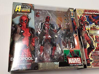 100  Authentic Deadpool Marvel Legends Amazing Yamaguchi Revoltech Kaiyodo New