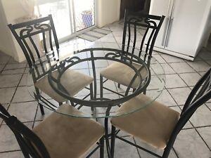 5 piece dining suite