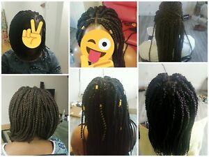 Coiffeuse coiffure et tresses africaine