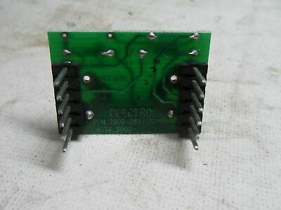 G1-4 Electrol 2800-2857 Pc Resistor Board Assembly