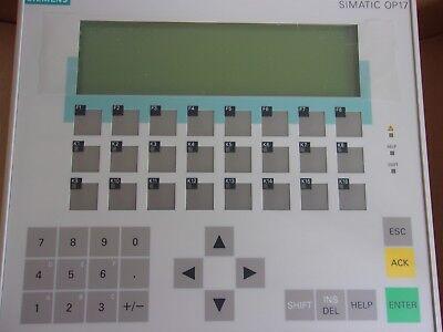 Siemens 6av3617-1jc20-0ax1 Simatic Op17 Hmi