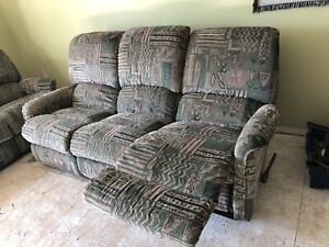 Lazyboy Reclining couch and loveseat