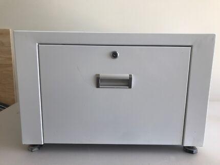 Front load washing machine stand.