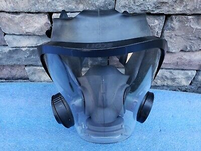 Scott Safety Av-3000 Full Facepiece Respirator Mask M Medium Size Without Head H