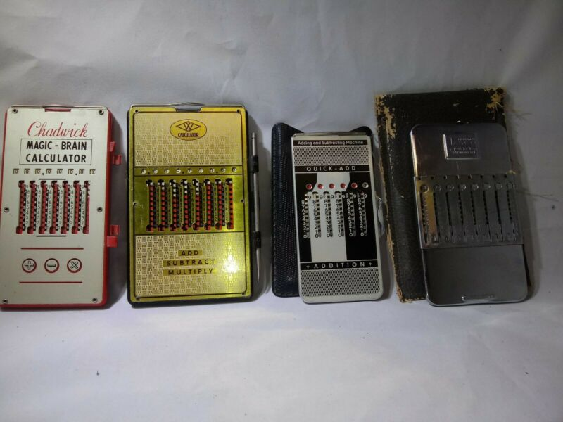 Vintage Mechanical Calculator Lot