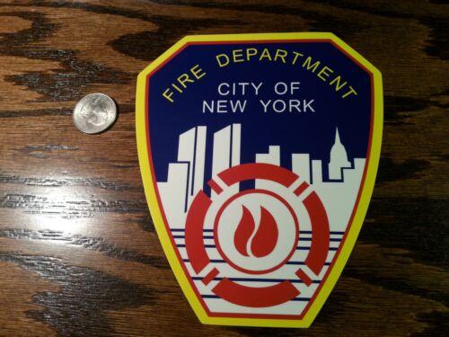 FDNY Fire Department Of New York outdoor grade die-cut vinyl sticker