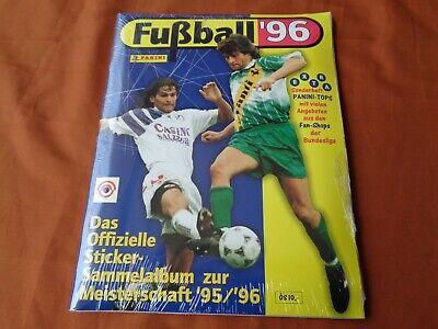 ALBUM FIGURINE PANINI FUBBALL 96 AUSTRIA MEISTERSCHAFT 95/96 SIGILLATO SEALED