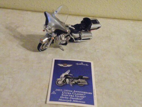Hallmark 2003 HARLEY-DAVIDSON Ultra Classic-Electra Glide CHRISTMAS ORNAMENT