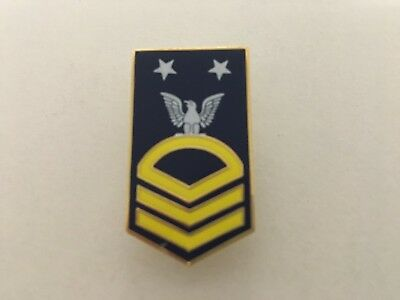 US NAVY MASTER CHIEF PETTY OFFICER E-9 (MCPO) PIN