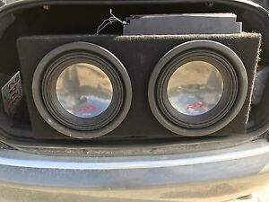 Subwoofer package with amp