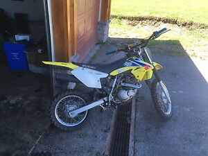 2009 Suzuki drz 125 lady driven