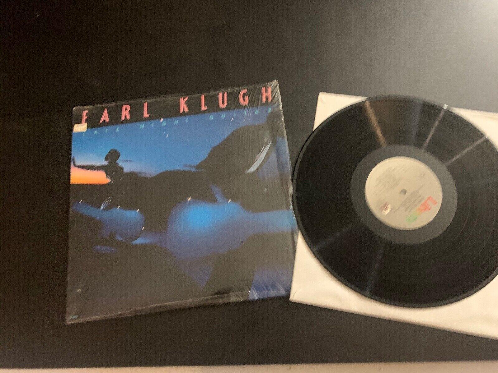 LP RECORD - EARL KLUGH - LATE NIGHT GUITAR - LIBERTY RECORDS - $9.99