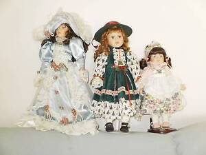 14 CHINA DOLLS IN AS NEW CONDITION Caboolture Caboolture Area Preview