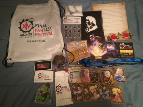 Final Fantasy XIV Las Vegas Fan Fest 2016 Goodie Bag