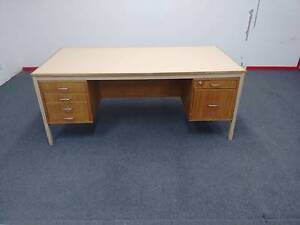 Desk with drawers Chester Hill Bankstown Area Preview