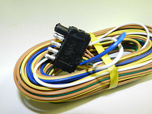 camper wiring harness wirdig trailer wire harness 25 5 way trailer flat plug camper boat utility