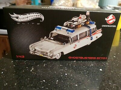 Hotwheels Elite 1:43 Ghostbusters Ecto-1