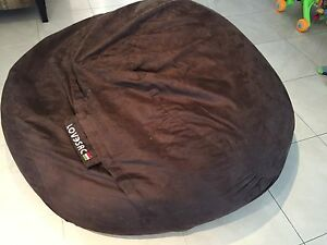 Love Sac Super Sac Size Microsuede Chocolate Brown Mount Lewis Bankstown Area Preview