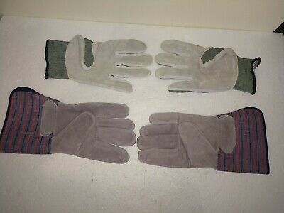 Vantage Ansell Dupont Kevlarleather Gloves Size 10 New Plus Welders Gloves Lg