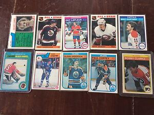 DALE HAWERCHUK/MIKE BOSSY HOCKEY CARDS AND MORE