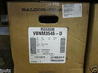 Baldor 1 Hp 3 Ph 56c 1745 Rpm 208-230460 Tenv Motor Vbnm3546-d Nib